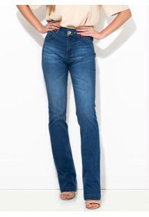 Calça Jeans Bia Reta Azul