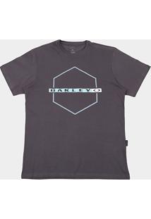 Camiseta Oakley Mod Crossing Hex Masculina - Masculino