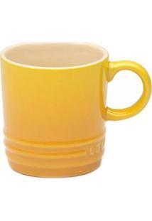 Caneca Capuccino Le Creuset Cerâmica Amarelo Dijon 200Ml - 7208