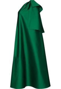 Bernadette Vestido De Festa Winnie Ombro Único - Verde