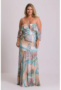 4be154cb2 Vestido Chiffon Festa feminino   Shoelover