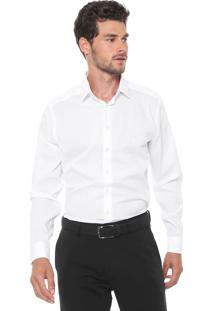Camisa Dudalina Reta Milano Branca