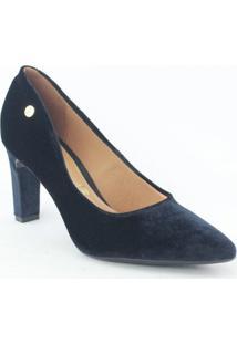 Sapato Vizzano - Feminino-Preto