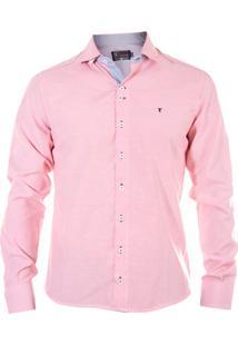 Camisa Tony Menswear Listrada Lilás