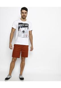 """Camiseta """"Always Cool""""- Branca & Preta- Coca-Colacoca-Cola"""