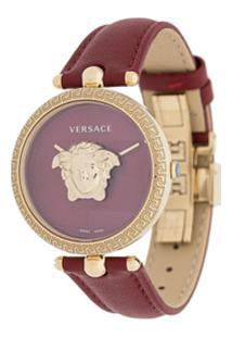 Versace Relógio Medusa - Vermelho