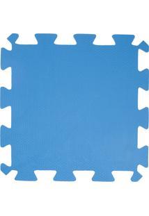 Tapete Loja Da Maria Eva 50X50X1Cm Azul Royal