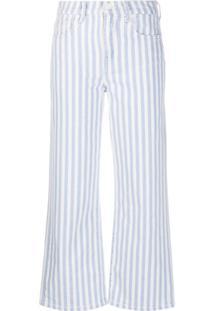 7 For All Mankind Calça Jeans Alexa Listrada - Azul
