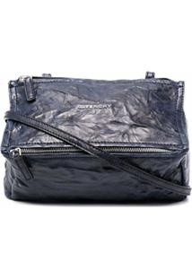 Givenchy Bolsa Transversal Com Efeito Franzido - Azul
