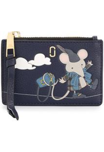 Marc Jacobs Carteira Mouse - Azul