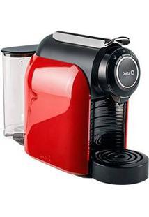 Cafeteira Expresso Delta Q Qool Evolution 19 Bar Vermelha