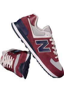 Tênis New Balance 574 Roxo