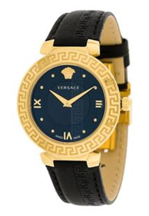 Versace Relógio 'Daphnis' - Preto