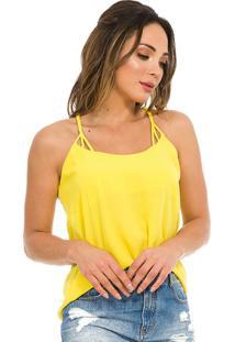 Blusa Adulto Feminina Amarelo