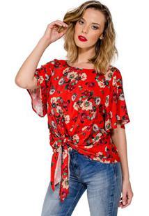 Blusa Estampa Floral Colcci