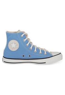 Tênis Converse Chuck Taylor All Star Hi Azul/Coral Ct14650002.37