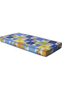 Colchão Baby Sleep D18 70X130 - Ortobom - Azul