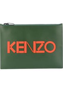 Kenzo Clutch 'Kenzo Paris' - Verde
