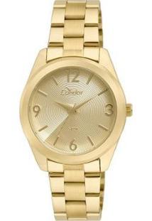 Relógio Condor Feminino Braceletes Co2035Kse/4D - Dourado Co2035Kse/4D - Feminino-Dourado