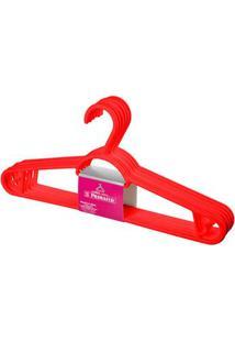 Cabide Pendura Mais Pr105/6-20 Vermelho Primafer