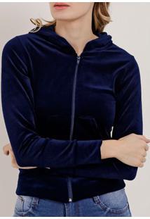 Jaqueta Feminina Azul