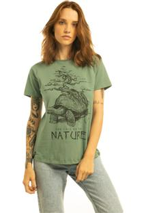 T-Shirt Nogah Nature Verde - Kanui