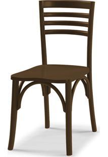Cadeiras Para Cozinha Samara 83,5 Cm 911 Marrom Escuro - Maxima