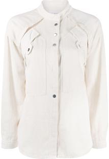 Ba&Sh Blusa Tyle Com Camadas - Branco