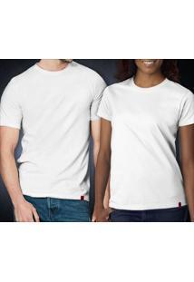 Camiseta Básica Branca - Masculina