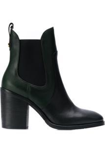 Tommy Hilfiger Block-Heel Ankle Boots - Preto