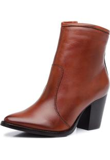 Bota Mietta Ankle Boot Party Terracota