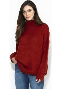 Blusão Tricô Vermelho
