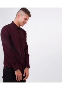 Camisa Com Bolso Em Flanela