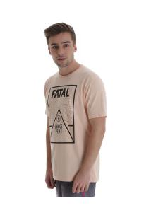 Camiseta Fatal Estampada 20568 - Masculina - Coral