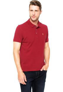 Camisa Polo Sergio K Regular Vermelha