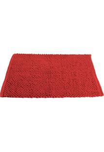 Tapete Micropop- Vermelho- 60X40Cm- Camesacamesa