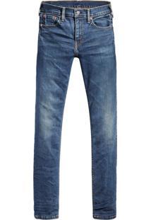 Calça Jeans Levis 513 Slim Straight Azul