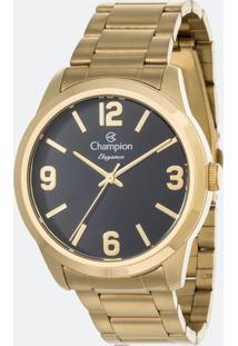 Kit Relógio Feminino Champion Cn27232K Analógico + Conjunto Semijóia