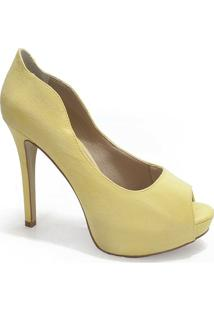 26a6f75be8 Sapato Amarelo feminino