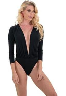 Body Be Sweet Angelina - Feminino-Preto