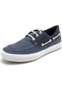 Sapato Mariner Cadarço Azul