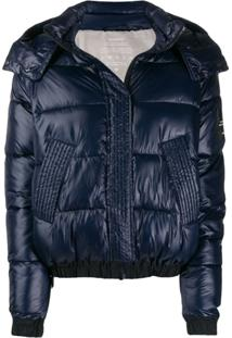 Ecoalf Hooded Puffer Jacket - Azul