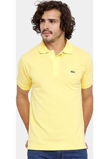 f981f10639ef8 Camisa Polo Lacoste Piquet Original Fit Masculina - Masculino