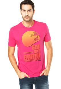 Camiseta Forum Sol Rosa