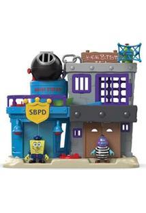 Imaginext Bob Esponja Mattel Prisão Fenda Do Biquíni