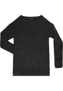 Suéter Tricô Preto