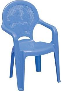 Poltrona Estampada Catty Azul - 92266070 - Tramontina Delta