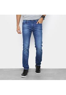 Calça Jeans Calvin Klein Five Pock Slim Masculina - Masculino
