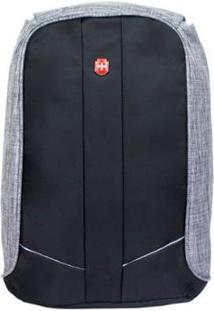 Mochila Swissland Anti Furto Para Notebook Ys28057 Impermeável - Unissex