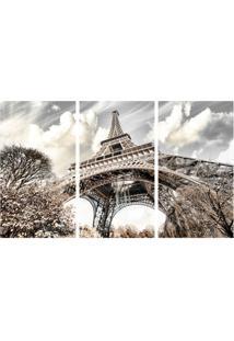 Quadro Decorativo Torre Eiffel Estampado
